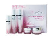 Набор средств с пептидами против морщин Metacos Platinum