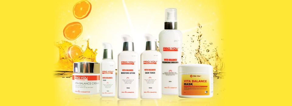 Линия средств для обезвоженной кожи с витаминами