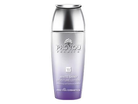 Увлажняющий лосьон сотбеливающим эффектом длясияющей кожи Pro You Premium