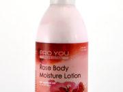 Увлажняющий лосьон для тела с розовой водой