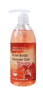 Гель для душа с розовой водой