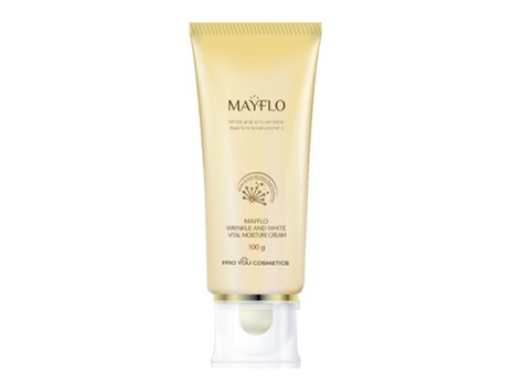 MayFlo Wrinkle and White Vital Moisture Cream