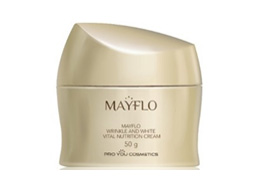 MayFlo Wrinkle and White Vital Nutrition Cream