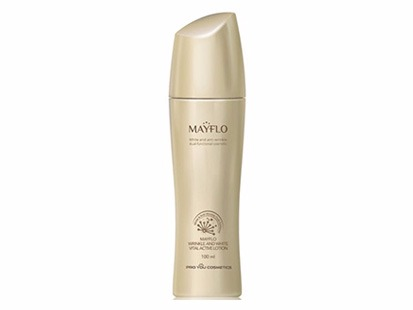 Mayflo Wrinkle And White Vital Active Lotion